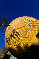 Geosphere, Epcot Center, Walt Disney World, Orlando, Florida USA