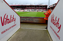 A general view of the grounds before the Premier League match at the Vitality Stadium, Bournemouth.