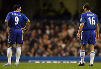 Photo: Javier Garcia/Digitalsport<br /> 23/10/2004 Chelsea v Blackburn, FA Barclays Premiership, Stamford Bridge<br /> Batman and Robben resume their partnership on the pitch for the first time since their moves from PSV Eindhoven