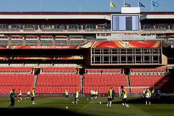 Training session at  Ellis Park Stadium on June 17, 2010 in Johannesburg, South Africa.  (Photo by Vid Ponikvar / Sportida)