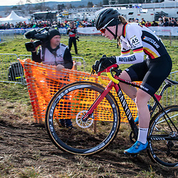 20190201: UCI CX Worlds : Dübendorf: Clea Seidel racing at the first ever cs world championship for women juniors