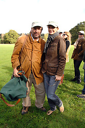The HON.DAVID MACMILLAN and SAFFRON ALDRIDGE at the Finch & Partners Clay Pigeon Shoot in aid of Battersea Dogs Home at the Holland & Holland Shooting Ground, Ruislip, Middlesex on 17th October 2007.<br /><br />NON EXCLUSIVE - WORLD RIGHTS