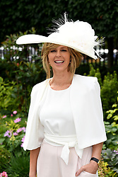Kate Garraway during day one of Royal Ascot at Ascot Racecourse