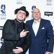 NLD/Hilversum/20190311  - Uitreiking Buma Awards 2019, Brainpower en Steve Lobel