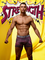 Cristiano Ronaldo packs a punch in a new photoshoot to promote his new superhero-inspired line of underwear. The 34-year-old Portuguese footballer shows off his impressive physique and rippling abs as he models a series of form-fitting boxer shorts from the Spring/Summer 2019 CR7 Underwear collection. The Juventus FC star poses in a range of briefs in front of a series of comic book style backdrops emblazoned with words including 'strength, power, belief'. Speaking of the new line, the father-of-four said: 'Everyone knows that underwear is one of the best parts of any superhero's wardrobe and I believe that everyone has their own superpowers. For the SS19 CR7 Underwear campaign I was asked what mine are and I encourage my fans to identify and celebrate theirs.' Referring to his 'superpowers', Ronaldo went on: 'The first is Power. Everyone has their own power — it's all about finding the unique power in you. Mine comes from training hard to become physically powerful but also from having the power to inspire others to work hard for their dreams, which is something I am really passionate about and grateful for. 'Strength is an essential superpower. I don't just focus on keeping my body strong, but my mind too. Both physical and mental strength are equally important to me and something I work hard to achieve. 'Belief is key. It's so important to have self-belief and to also believe in and uplift the people around you. I have a great team, so it's easy to have belief in what we can achieve. 'And, of course, my secret superpower- my CR7 Underwear. I always feel my best, my most confident when I'm wearing CR7 Underwear.' The Spring/Summer 2019 CR7 Underwear collection is available online and from select retailers worldwide. 24 Apr 2019 Pictured: Cristiano Ronaldo models a series of form-fitting boxer shorts from the Spring/Summer 2019 CR7 Underwear collection. Photo credit: CR7/ MEGA TheMegaAgency.com +1 888 505 6342