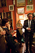 MARY KILLEN; ANDREW BARROW, Party to celebrate the publication of Animal Magic by Andrew Barrow. Tite St. London. 28 February 2011.  -DO NOT ARCHIVE-© Copyright Photograph by Dafydd Jones. 248 Clapham Rd. London SW9 0PZ. Tel 0207 820 0771. www.dafjones.com.