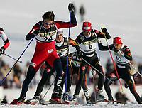 Kombinert<br /> Foto: Witters/Digitalsport<br /> NORWAY ONLY<br /> <br /> Magnus Moan Norwegen <br /> Weltcup Nordische Kombination Schonach 2006