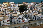 Overlooking Ibiza's old town from the castle.