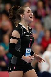 20190131 NED: Semi Final Cup Sliedrecht Sport - Eurosped, Sliedrecht <br />Susanne Kos (1) of Team Eurosped Twente<br />©2019-FotoHoogendoorn.nl / Pim Waslander