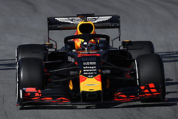 February 18, 2019 - Barcelona, Spain - The Dutch driver, Marx Verstappen of Red Bull Racing,  testing the new car RB15's, for F1 2019 Championship during the first day of Formula One Test at Catalonia Circuit, on February 18, 2019 in Barcelona, Spain. (Credit Image: © Joan Cros/NurPhoto via ZUMA Press)