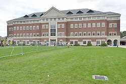 View East, West Elevation Vance Center. CCSU New Academic Building Construction Progress. Pre-Construction, Shoot 1