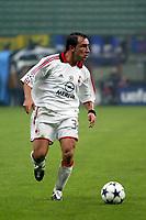 Milano 22/10/2003 Champions League <br />Milan Club Brugge 0-1 <br />Cristian Brocchi (Milan)<br />Photo Staccioli / Graffiti