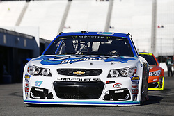 September 23, 2017 - Loudon, New Hampshire, United States of America - September 23, 2017 - Loudon, New Hampshire, USA: Chris Buescher (37) takes to the track to practice for the ISM Connect 300 at New Hampshire Motor Speedway in Loudon, New Hampshire. (Credit Image: © Justin R. Noe Asp Inc/ASP via ZUMA Wire)