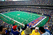 Football game at Giants Stadium, East Rutherford, NJ
