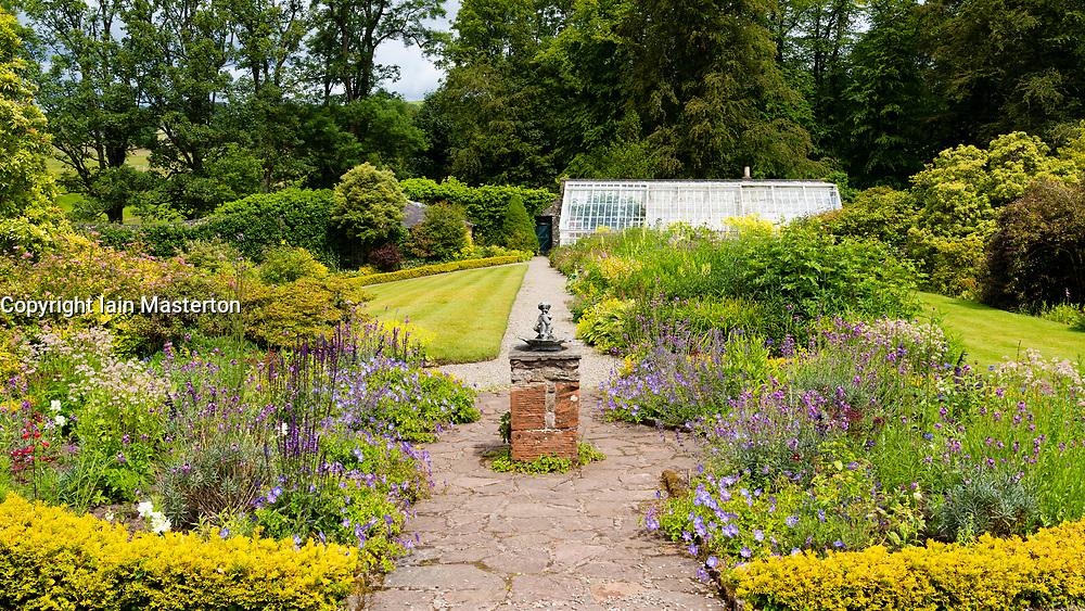 NTS Geilston Garden in Cardross, Argyll and Bute, Scotland, UK