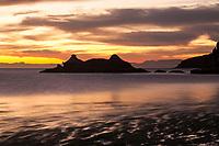 Scenic image of the Sea of Cortez, Mexico