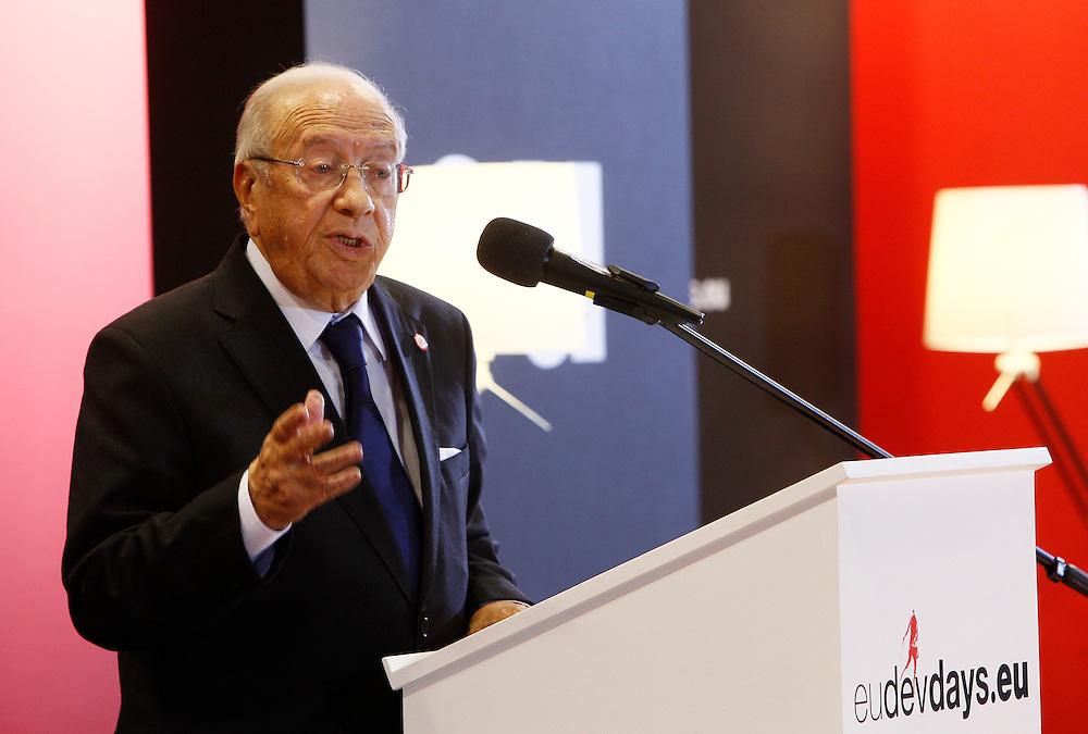 20111215 - Poland - Warsaw  - European Development Days  2011 - Special Address - Mohamed Beji Caid Essebsi , Interim Prime Minister of Tunisia © European Union