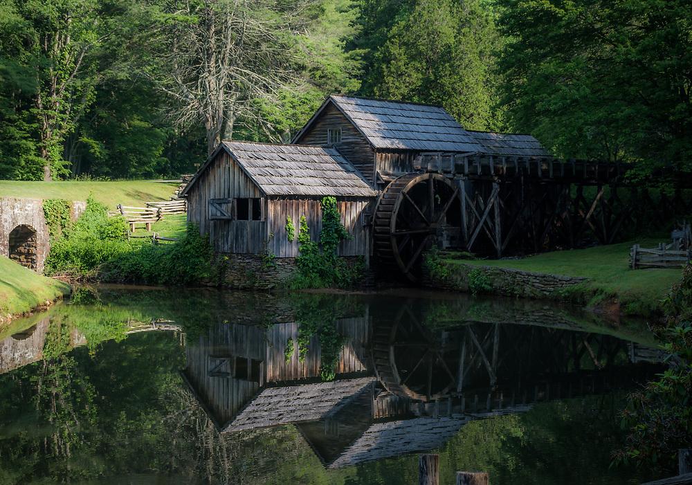 The beautiful Mabry mill