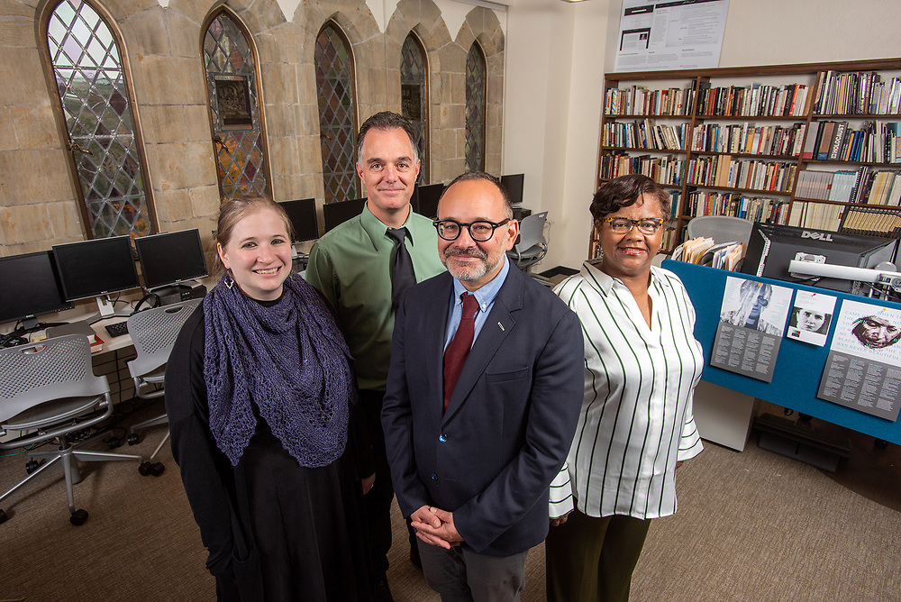 © Photo by Mara Lavitt<br /> October 30, 2019<br /> Fortunoff Video Archive for Holocaust Testimonies, Sterling Memorial Library, Yale University, New Haven
