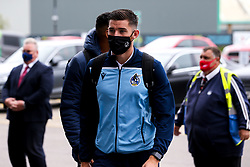 Jack Baldwin of Bristol Rovers arrives at Doncaster Rovers - Mandatory by-line: Robbie Stephenson/JMP - 26/09/2020 - FOOTBALL - The Keepmoat Stadium - Doncaster, England - Doncaster Rovers v Bristol Rovers - Sky Bet League One