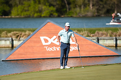 March 21, 2018 - Austin, TX, U.S. - AUSTIN, TX - MARCH 21: Paul Casey gets ready to putt during the First Round of the WGC-Dell Technologies Match Play on March 21, 2018 at Austin Country Club in Austin, TX. (Photo by Daniel Dunn/Icon Sportswire) (Credit Image: © Daniel Dunn/Icon SMI via ZUMA Press)
