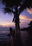 Sunset from hammock<br />
