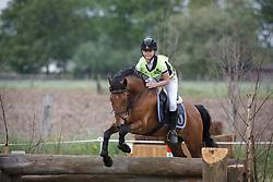 Simons Gauke (BEL) - Bovenheigraaf's Carlo<br /> Nationaal Kampioenschap Eventing Pony's <br /> LRV Gavere 2014<br /> © Dirk Caremans
