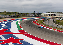 March 23, 2019 - Austin, Texas, U.S. - FELIX ROSENQVIST (R) (10) of Sweden goes through the turns during practice for the INDYCAR Classic at Circuit Of The Americas in Austin, Texas. (Credit Image: © Walter G Arce Sr Asp Inc/ASP)