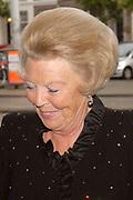 Hare Majesteit de Koningin Beatrix was 20 augustus aanwezig bij het concert van de European Union Youth Orchestra in het Concertgebouw te Amsterdam