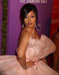 September 12, 2019, New York, New York, USA: CARDI B attends RihannaÃ•s Fifth Annual Diamond Ball held at Cipriani Wall Street. (Credit Image: © Nancy Kaszerman/ZUMA Wire)