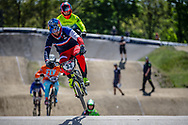 #33 (DAUDET Joris) FRA at Round 4 of the 2018 UCI BMX Superscross World Cup in Papendal, The Netherlands