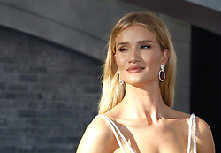 Rosie Huntington-Whiteley at the World premiere of 'Fast & Furious Presents: Hobbs & Shaw' held at the Dolby Theatre in Hollywood, USA on July 13, 2019.