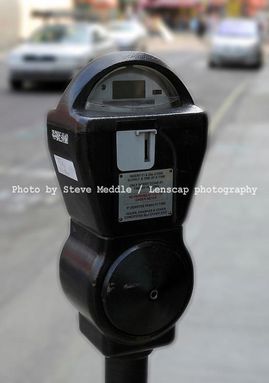 Parking Meter, London, Britain