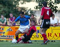 Fotball<br /> Skottland 2004/05<br /> Treningskamp<br /> FC Fuerstenfeld vs Glasgow Rangers<br /> 18. juli 2004<br /> Foto: Digitalsport<br /> NORWAY ONLY<br /> Zurab Khizanishvili (Rangers)