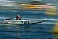 Speed boat time trial