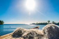J'aime ma ville natale, Rivière-Pilote et son mini port de pêche.<br /> I love my hometown, fishermen's port in Rivière-Pilote.