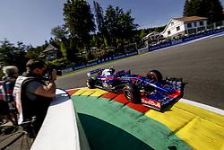 August 31, 2019, Spa-Francorchamps, Belgium: Motorsports: FIA Formula One World Championship 2019, Grand Prix of Belgium, ..#10 Pierre Gasly (FRA, Red Bull Toro Rosso Honda) (Credit Image: © Hoch Zwei via ZUMA Wire)