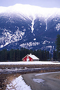 Barn, Flathead Valley, Montana<br />