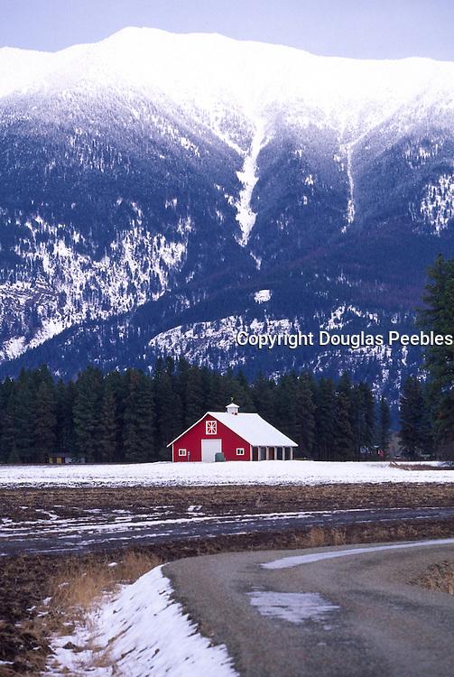 Barn, Flathead Valley, Montana<br />
