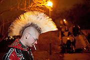 "Club Bunker in Prague 3 during the music festival event ""Zizkov night"" (Zizkovska noc)."