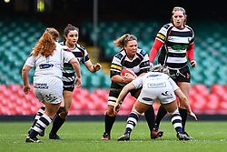 Pontyclun Falcons v Swansea Ladies - Mandatory by-line: Craig Thomas/Replay images - 03/05/2019 - RUGBY - Principality Stadium - Cardiff, Wales - Pontyclun Falcons v Swansea Ladies - Womens Super Cup Final