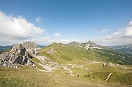 Border ridge above Dobërdol, Albania, looking towards Veliki krš and Babino polje in Montenegro © Rudolf Abraham