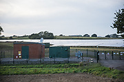 Solar panels, Sweet Willow Wood, East Sussex. September 2018