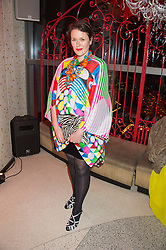 HOLLY FULTON at the 3rd anniversary party of Sushisamba at the Heron Tower, 110 Bishopsgate, City of London on 10th November 2015.
