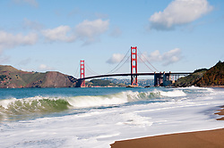 Baker Beach, Golden Gate Bridge, San Francisco, California, USA.  Photo copyright Lee Foster.  Photo # california108266