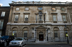 © Licensed to London News Pictures. 04/03/2016. London, UK.  Spencer house in London where Rupert Murdoch and Jerry Hall were married today,  February 04, 2016. The couple, who announced their engagement in January, had a private ceremony today, with a public service expected at Fleet Street's St Bride's Church on Saturday. Photo credit: Ben Cawthra/LNP