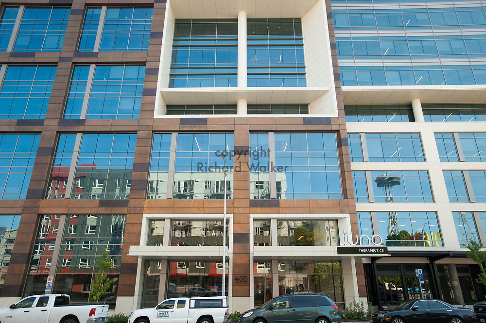 2017 SEPTEMBER 22 - Building on Dexter Ave N in South Lake Union, Seattle, WA, USA. Site of Juno Therapeutics. By Richard Walker