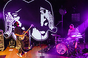 Death From Above 1979 at House of Blues photo by Cleveland music photographer Mara Robinson