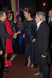 The Duchess of Sussex at the premiere of Cirque du SoleilÕs Totem, in support of the Sentebale charity, at the Royal Albert Hall on London.
