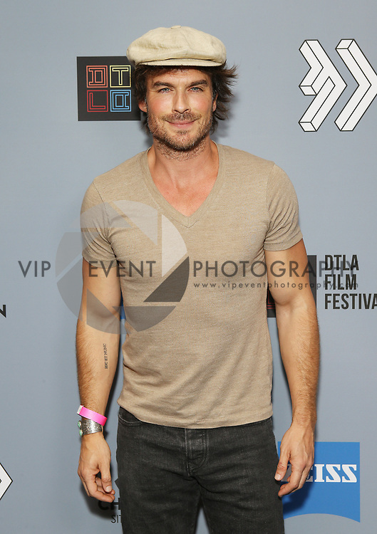 """Ian Somerhalder at DTLA Film Festival """"INSIDE GAME"""" Los Angeles Premiere held at Regal LA Live on October 24, 2019 in Los Angeles, California, United States (Photo by © Michael Tran/VipEventPhotography.com"""